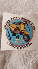GP OWNERS  CLUB STICKER